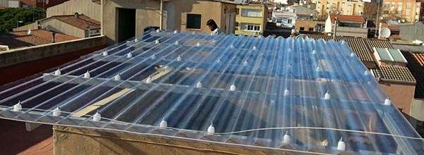 Cubiertas para tejados de naves industriales - Cubiertas vegetales para tejados ...
